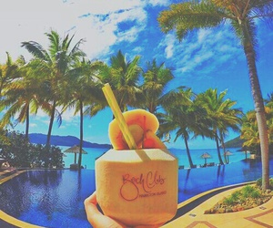 summer, tropical, and paradise image
