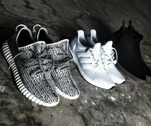 kanye west and shoes image
