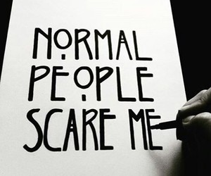 people and scare image