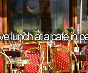 cafe, paris, and before i die image
