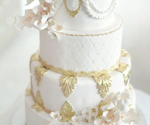 beautiful, cake, and wedding image