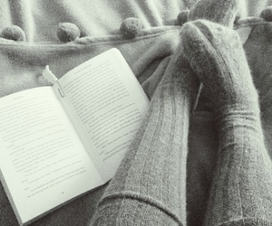 autumn, books, and cosy image
