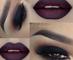 black, bold, and eyebrows image