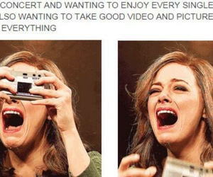 concert, one direction, and funny image