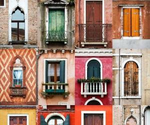 windows, city, and door image