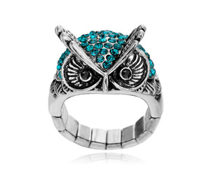 fashion, sexy, and owl ring image