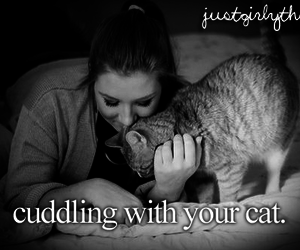 cat, justgirlythings, and just girly things image
