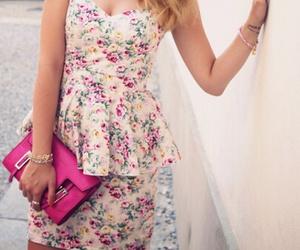 dress, girly, and fashion image