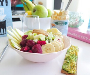 healthy, breakfast, and fit image