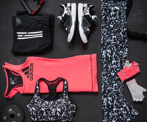 adidas, fitness, and sport image