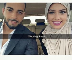 beautiful, muslimcouple, and couple image