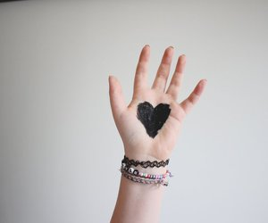 hand and heart image