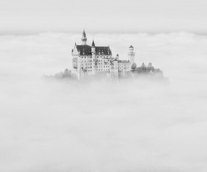 castle, clouds, and Dream image