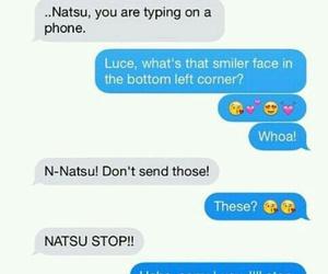 Lucy, nalu, and natsu image