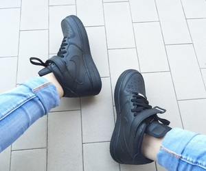 black, nike, and cool image