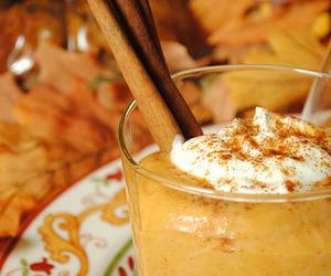 Cinnamon, drink, and autumn image