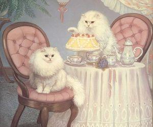 arte, art, and cat image