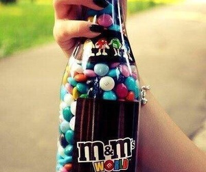 m&m, m&m's, and chocolate image
