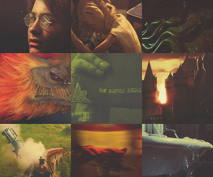 harry potter, chamber of secrets, and hogwarts image