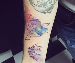 awesome, tattoo, and colorful image