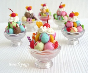 beautiful, cream, and food image