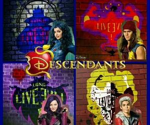 descendants and descendientes image