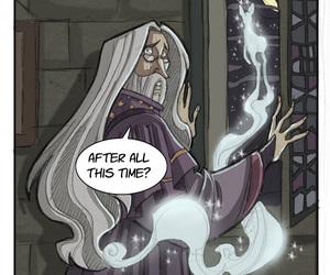 harry potter, albus dumbledore, and severus snape image