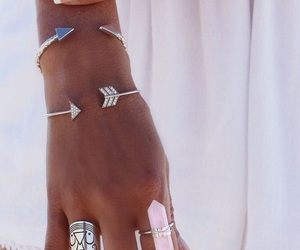 accessories, gem, and hand image