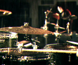 drums and cymbal image