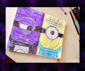 bad, minion, and wreckthisjournal image
