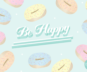 couleurs, pastels, and donuts image