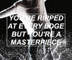 quote, halsey, and colors image