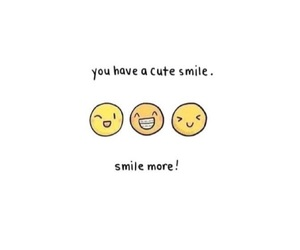 smile and cute image