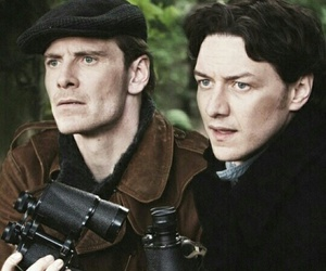 michael fassbender, james mcavoy, and magneto image
