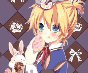 vocaloid, len kagamine, and cute image