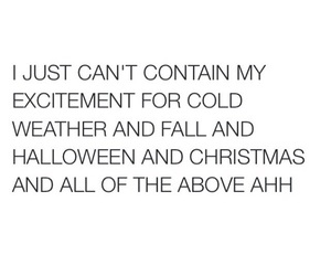 christmas, excited, and fall image