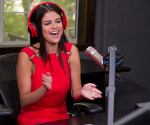 selena gomez and on air with ryan seacrest image