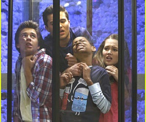 billy unger, lab rats, and kelli berglund image
