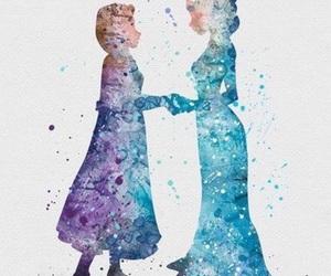 frozen, disney, and elsa image