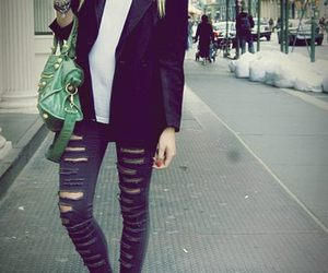 blazer, Chick, and style image
