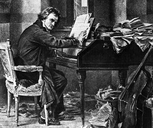 Beethoven, classical music, and composer image