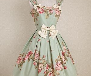 vintage and dress image
