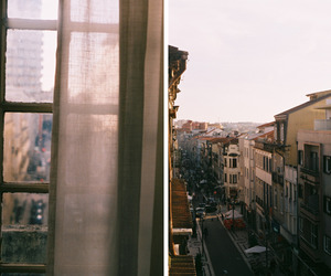city, photography, and window image