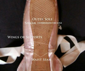 ballet, pink, and pointe image