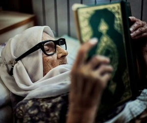 quran, hijab, and islam image