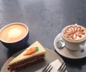 cake, latte, and Utrecht image