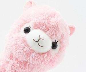 kawaii, llama, and pastel image