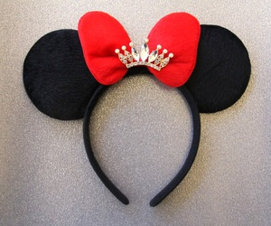 bow, disney, and headband image