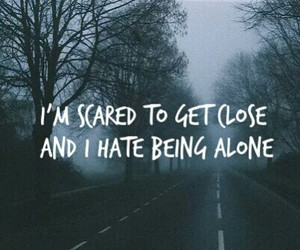 bring me the horizon, sad, and scared image