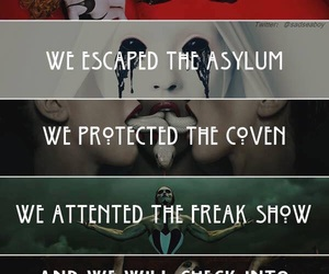 asylum, tv, and coven image